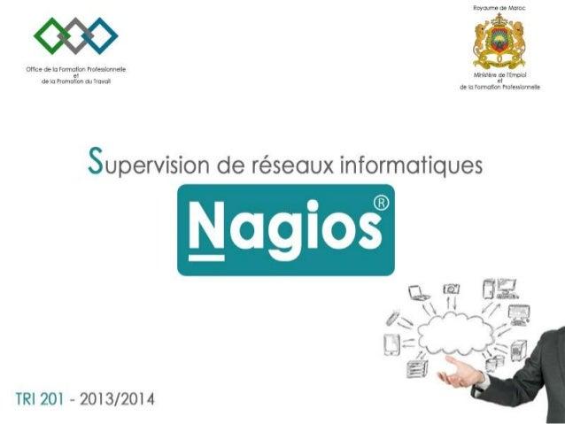 Supervision de réseau informatique - Nagios