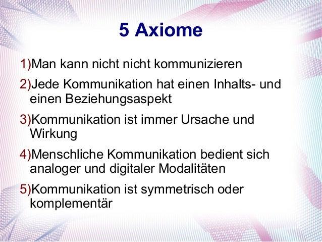 4 5 axiome 1man kann nicht nicht kommunizieren - Man Kann Nicht Nicht Kommunizieren Beispiel