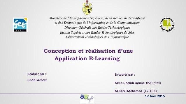 Ministère de l'Enseignement Supérieur, de la Recherche Scientifique et des Technologies de l'Information et de la Communic...