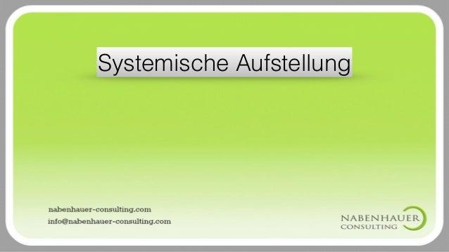 Systemische Aufstellung