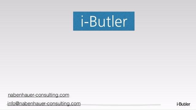 i-Butler nabenhauer-consulting.com info@nabenhauer-consulting.com