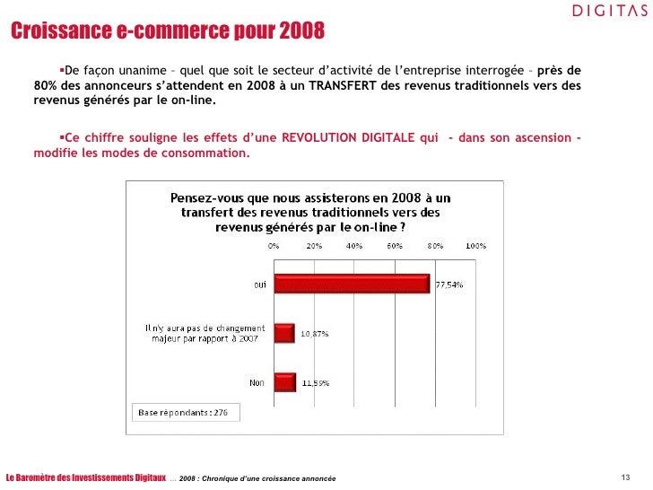 <ul><li>De façon unanime – quel que soit le secteur d'activité de l'entreprise interrogée –  près de 80% des annonceurs s'...