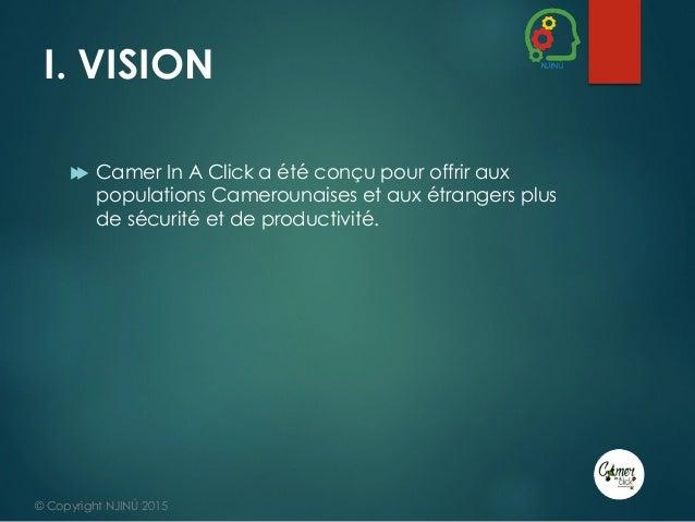 Présentation du projet CAMER IN A CLICK - #DigitalThursday #Edition9 Slide 3
