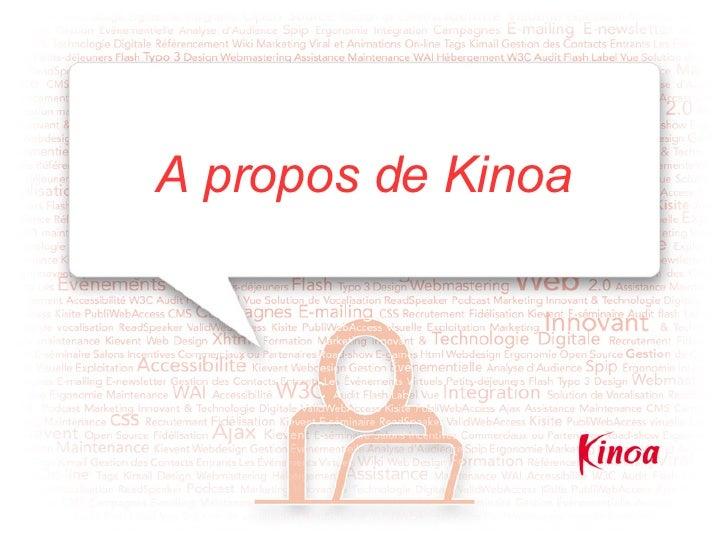 A propos de Kinoa