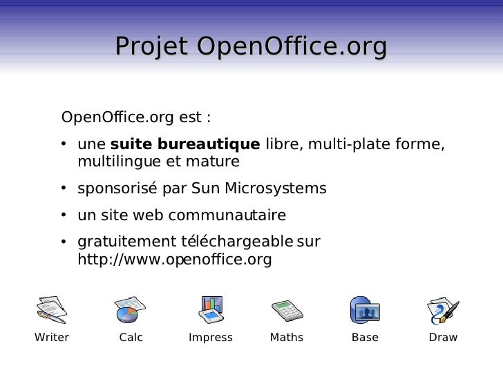 Pr sentation d 39 impress - Telecharger open office impress gratuitement ...