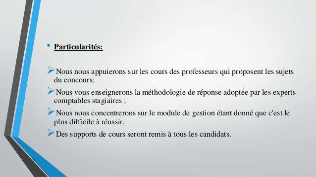 • Particularités: Nous nous appuierons sur les cours des professeurs qui proposent les sujets du concours; Nous vous ens...