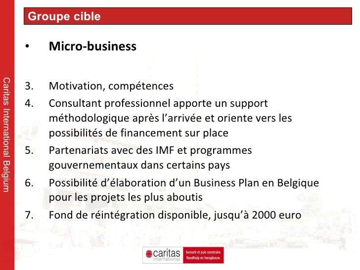 <ul><li>Micro-business </li></ul><ul><li>Motivation, compétences </li></ul><ul><li>Consultant professionnel apporte un sup...