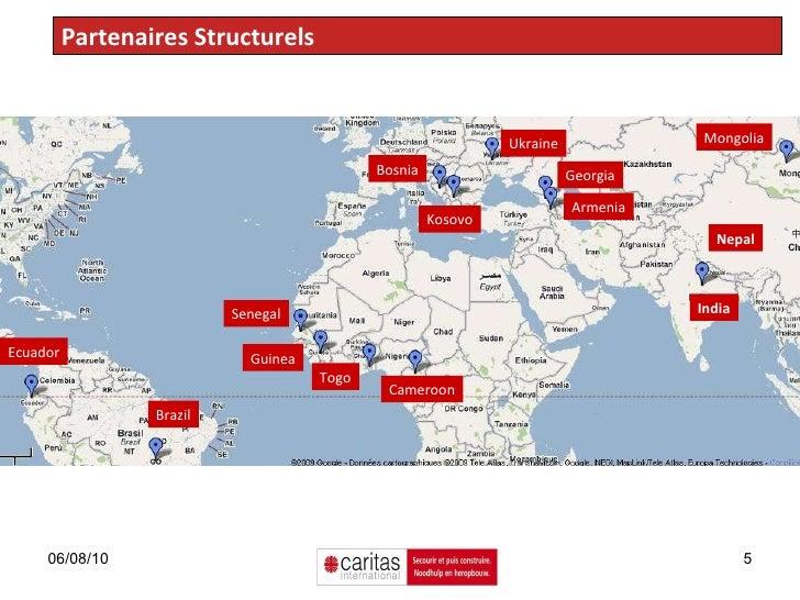 Partenaires Structurels Mongolia Armenia Georgia Senegal Ukraine Togo Cameroon Guinea Brazil Ecuador Bosnia Kosovo India N...