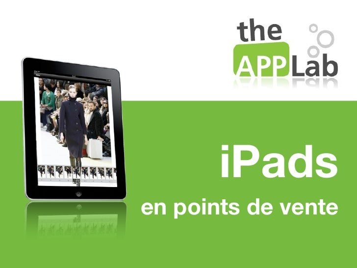 iPadsen points de vente