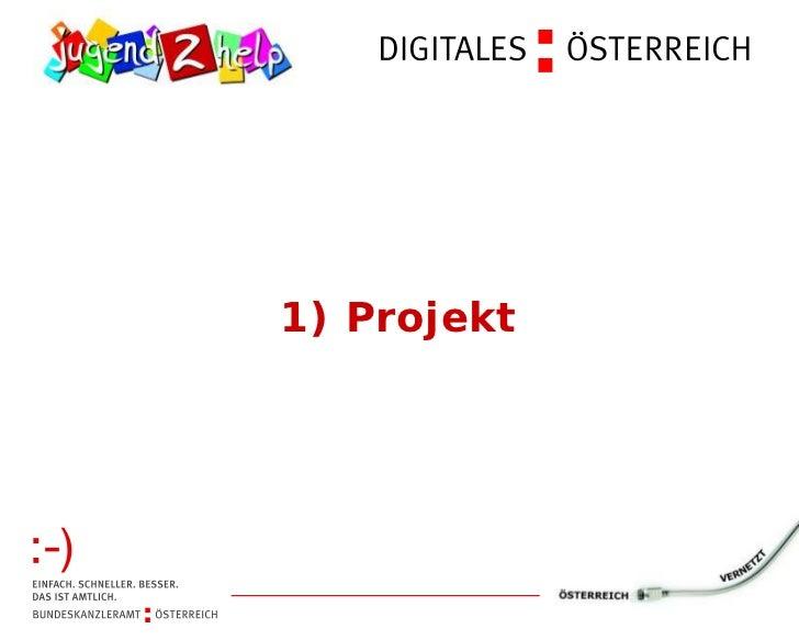 1) Projekt