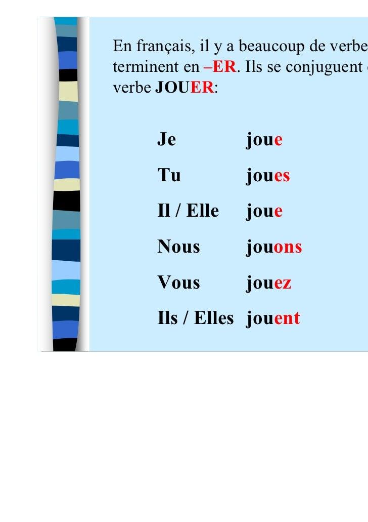 Le Francais Avec Madame Tessier Gr7 Myp 0 Revisions