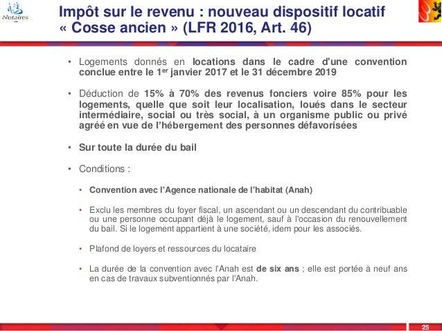 Presentation Loi De Finances 2017