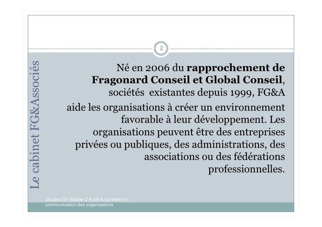 Posture polyvante du conseiller en communication corporate Slide 2