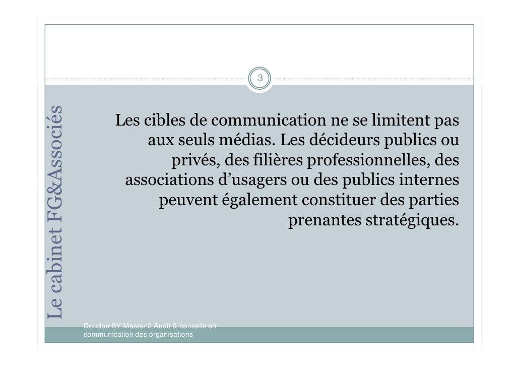 Posture polyvante du conseiller en communication corporate Slide 3