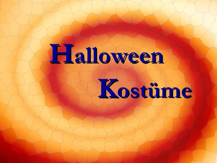 H alloween     K ostüme