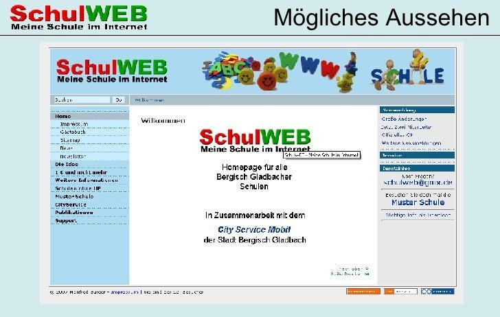 Präsentation Schul Web