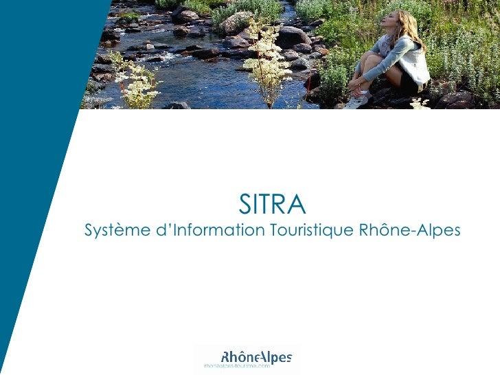 SITRA Système d'Information Touristique Rhône-Alpes