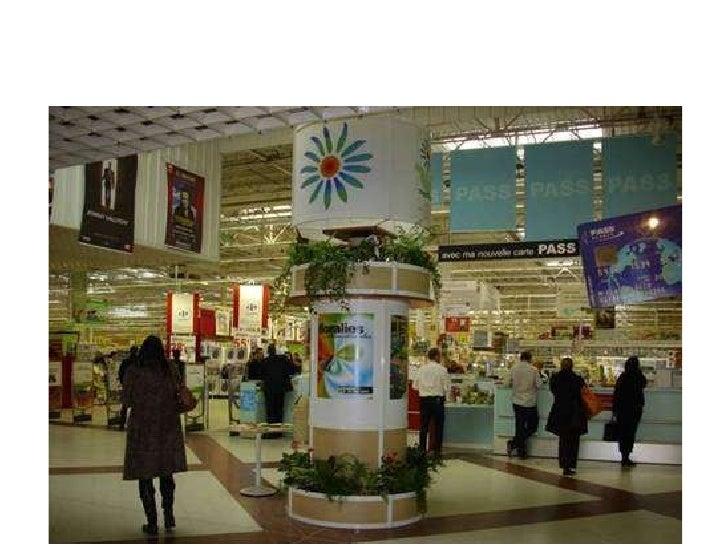 Opérations avec les grandes surfaces pour les Floralies:  présences dans les galeries marchandes, tarifs privilégiés, jeux...