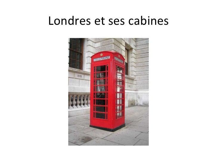 Londres et ses cabines
