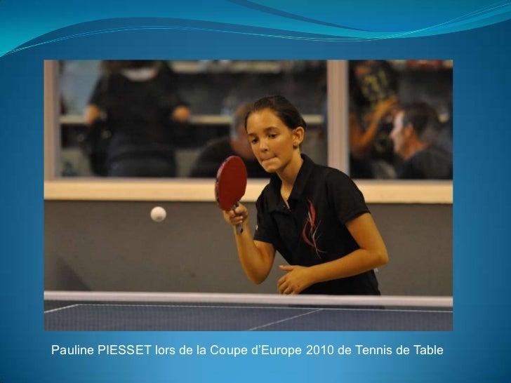 Kojimo la coupe d 39 europe 2010 tennis de table - Championnat d europe de tennis de table ...