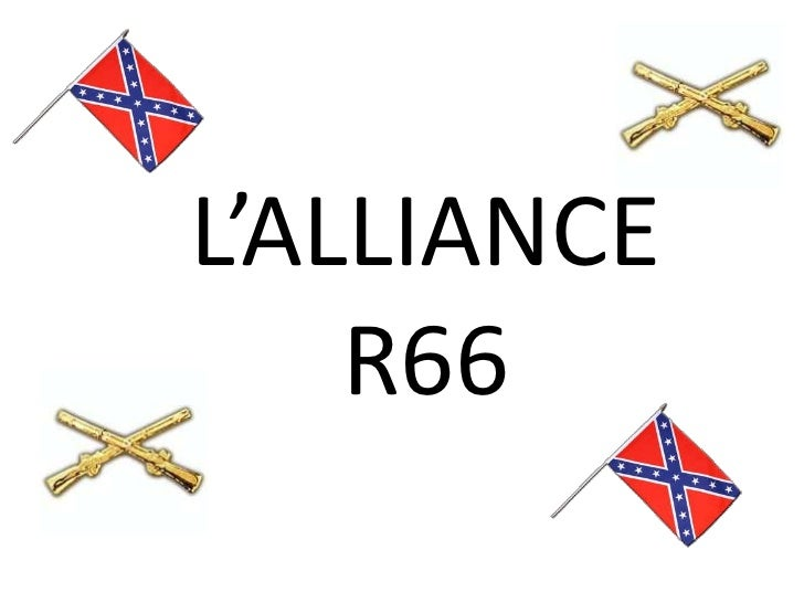 L'ALLIANCE          R66<br />