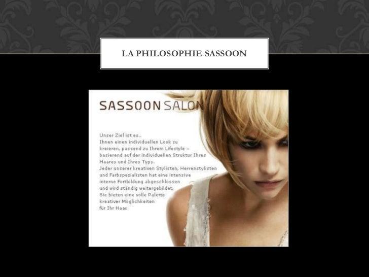 LA PHILOSOPHIE SASSOON