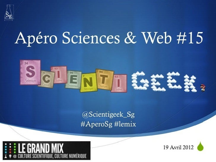 Apéro Science & Web - Scientigeek