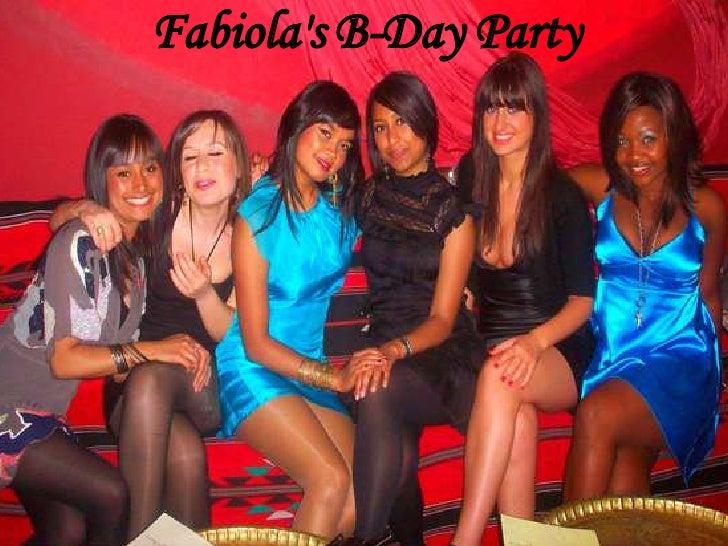 Fabiola's B-Day Party