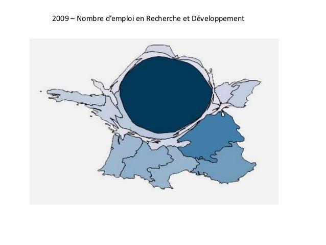 2009 – Nombre d'emploi en Recherche et Développement
