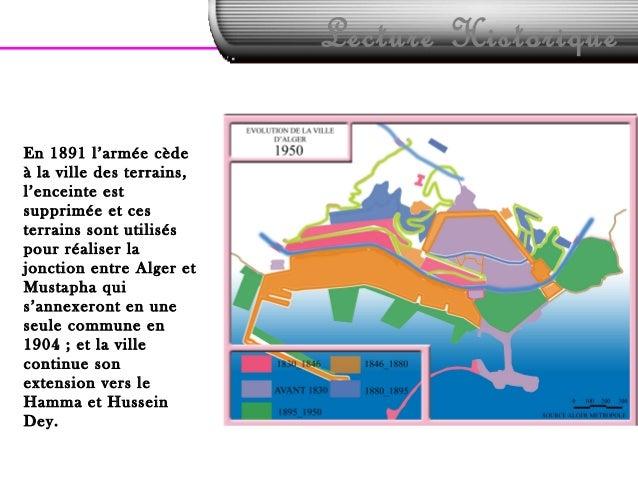 Lecture HistoriqueEn 1891 l'armée cèdeà la ville des terrains,l'enceinte estsupprimée et cesterrains sont utiliséspour réa...