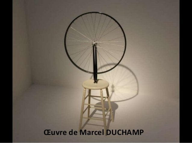 Œuvre de Marcel DUCHAMP