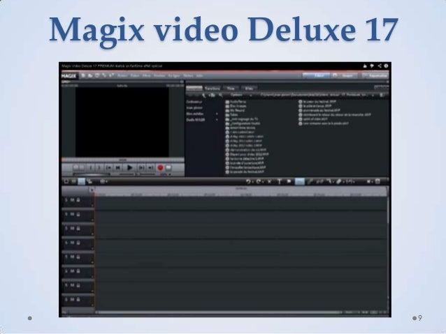 Magix video Deluxe 17  9