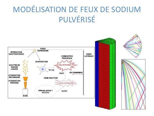 MODÉLISATION DE FEUX DE SODIUM  PULVÉRISÉ