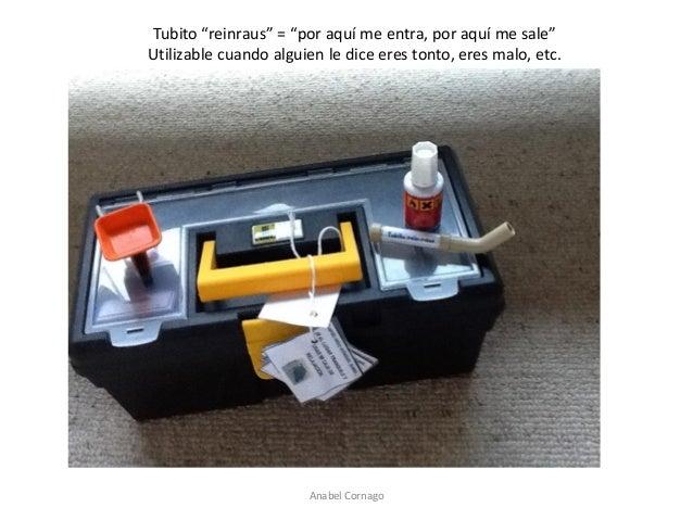 """Anabel Cornago  Tubito """"reinraus"""" = """"por aquí me entra, por aquí me sale""""  Utilizable cuando alguien le dice eres tonto, e..."""