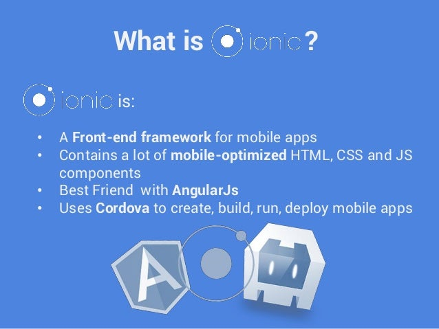 Building Mobile Apps With Cordova Angularjs And Ionic