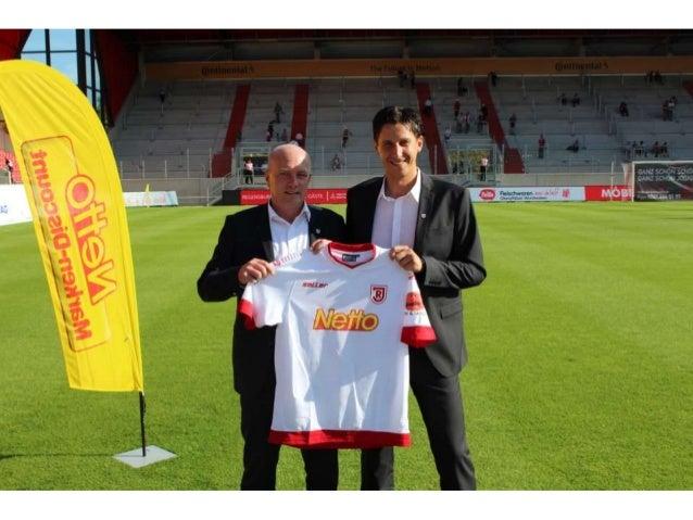 Netto ist neuer Hauptsponsor des SSV Jahn