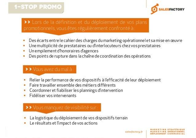 Rendre des opérations promotionnelles en point de vente plus performantes Slide 2