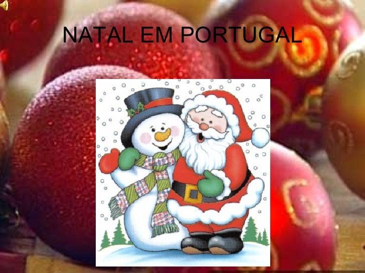 NATAL EM PORTUGAL