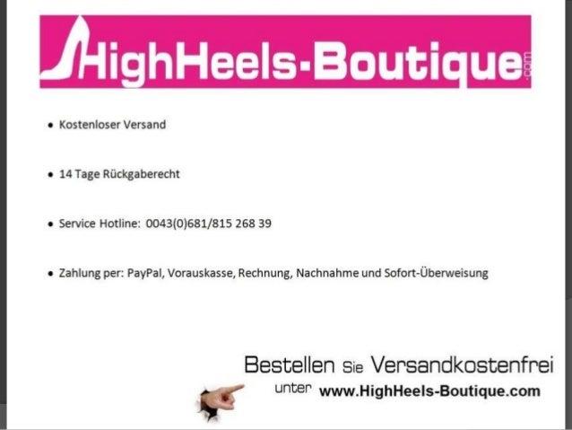 Endlich in High Heels laufen können – Tipps und Tricks!!!!!