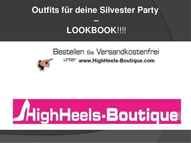 Outfits für deine Silvester Party – LOOKBOOK!!!!