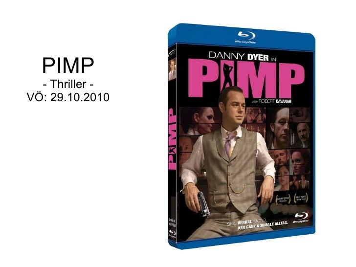 PIMP - Thriller - VÖ: 29.10.2010