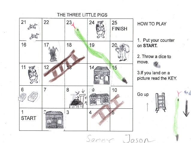 The Three Little Pigs Games
