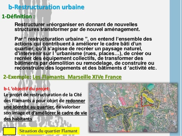 rénovation urbaine définition