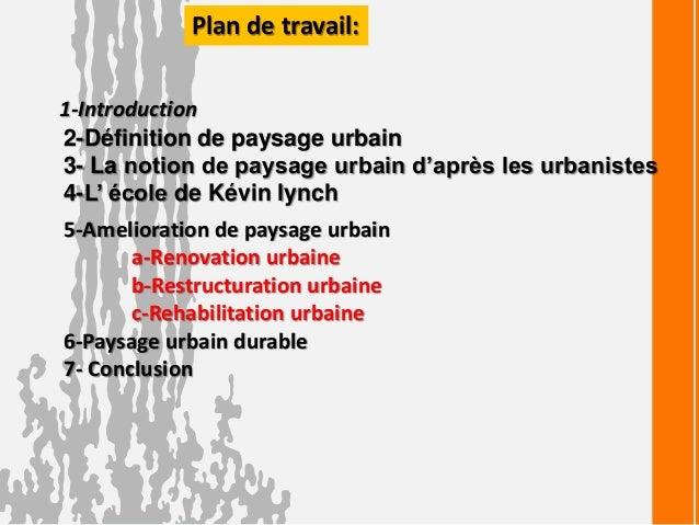 rénovation urbaine def