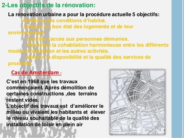 rénovation urbaine procédure