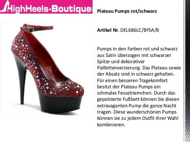 Plateau Pumps Rot online bestellen | BAUR