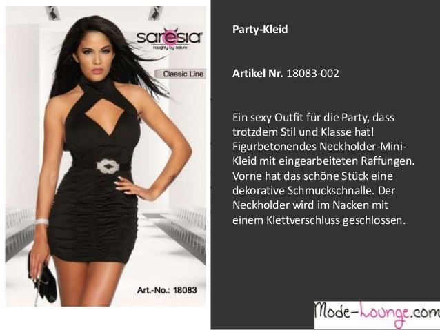 Party-Kleid  Artikel Nr. 18083-002 Jeansprint Leggings Ein sexy Outfit für die Party, dass trotzdem Stil und Klasse hat! A...