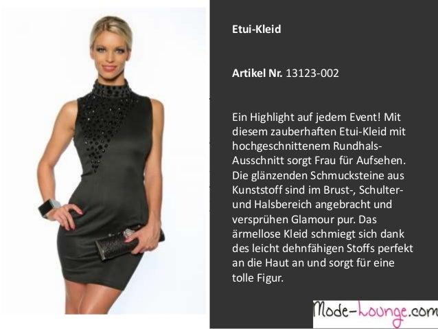 Modenschau Mode-Lounge: Sexy Partykleider