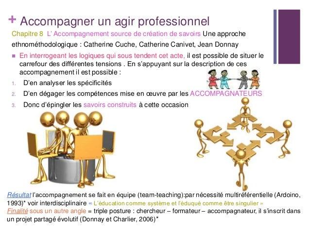 + Accompagner un agir professionnelChapitre 8 L' Accompagnement source de création de savoirs Une approcheethnométhodologi...