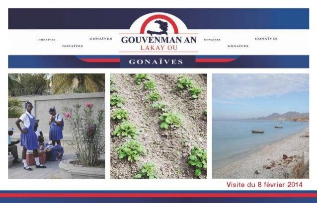 """Rapport du programme """"Gouvennman An Lakay Ou"""" à Gonaives"""